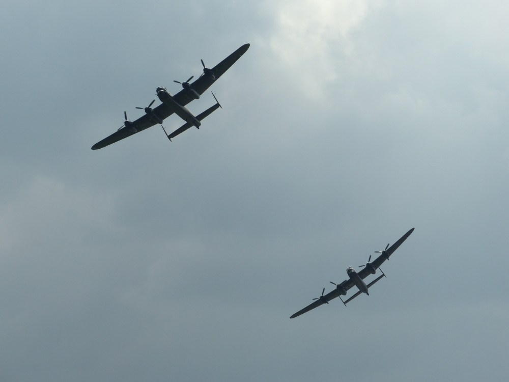 Last two Lancasters! Goodwood Revival