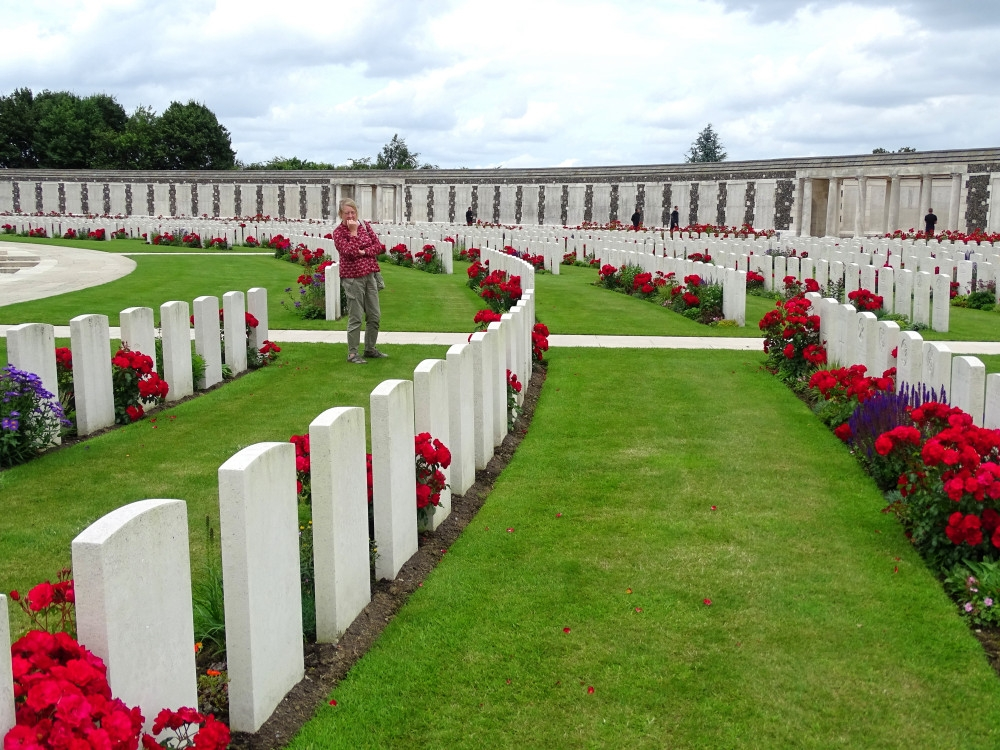 Tyne Cot Commonwealth Wargraves, Ypres